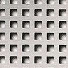Средний квадрат  Отверстие 5 мм х 5 мм. Ширина перемычки между отверстиями 3 мм. Площадь отверстий 38%